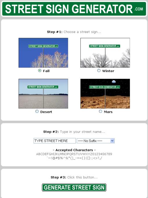 Aviary streetsigngenerator-com Picture 3