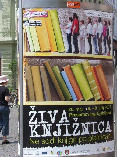 Living Library>LivingLibrary@Ljubljana,Slovenia.